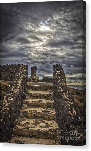 Drown Canvas Print - Shrine To Drowned Fishermen by Mitch Shindelbower