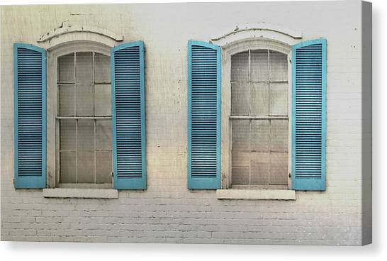 Shutter Blue Canvas Print by JAMART Photography