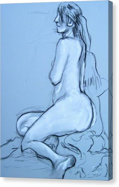 Side View Canvas Print