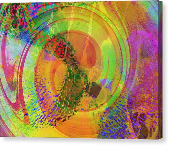 Contemporary Art Canvas Print - Sideral Forms by Contemporary Art