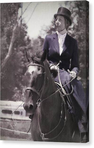 Sidesaddle Canvas Print by JAMART Photography