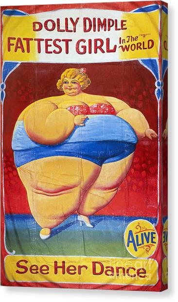 Aod Canvas Print - Sideshow Poster, C1949 by Granger