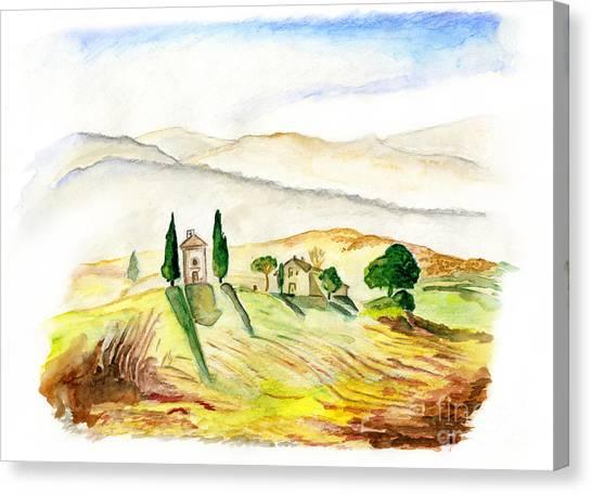 Siena. Italy Canvas Print
