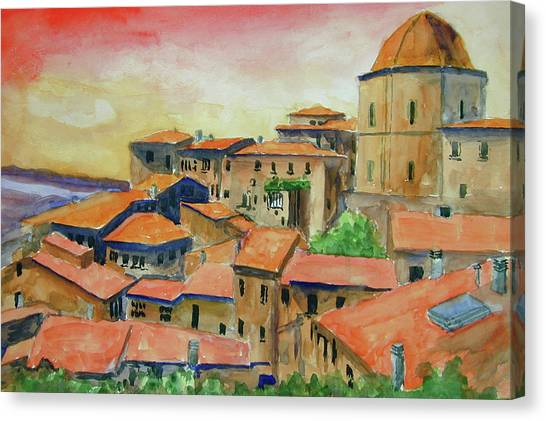 Siena Italy Canvas Print