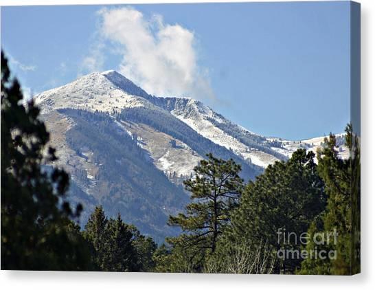 Sierra Blanca Clouds 4 Canvas Print