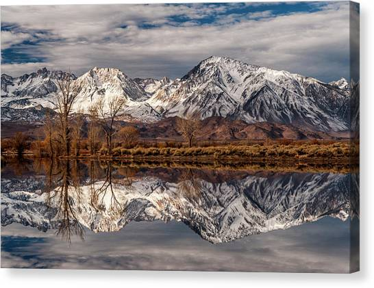 Sierra Reflections 2 Canvas Print