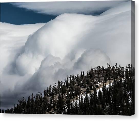 Sierra Stormclouds Canvas Print