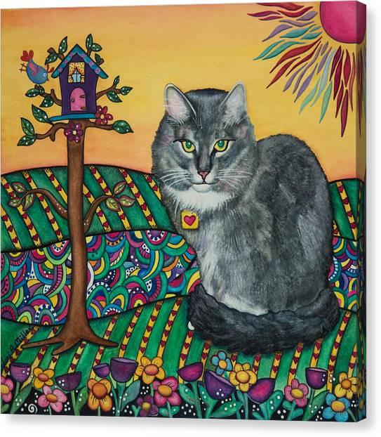Sierra The Beloved Cat Canvas Print