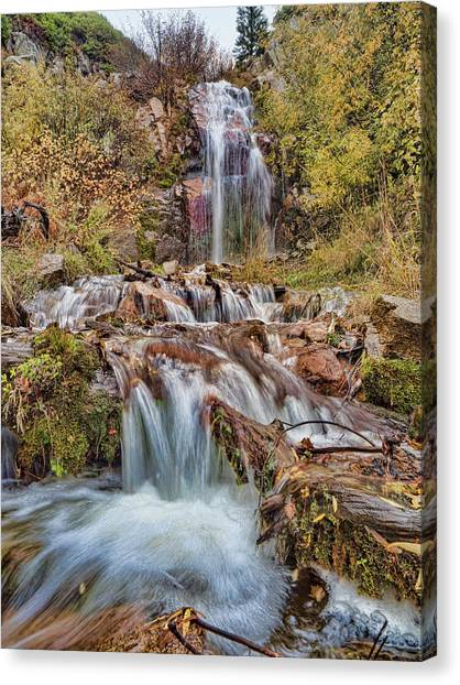 Sierra Waterfall Canvas Print