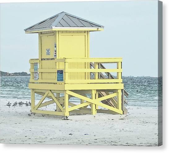 Siesta Key Beach 1 Canvas Print
