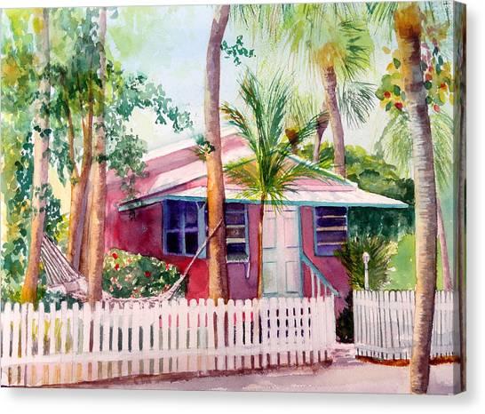 Siesta Key Cottage Canvas Print