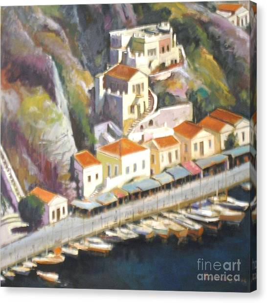 Sifnos  Canvas Print by George Siaba