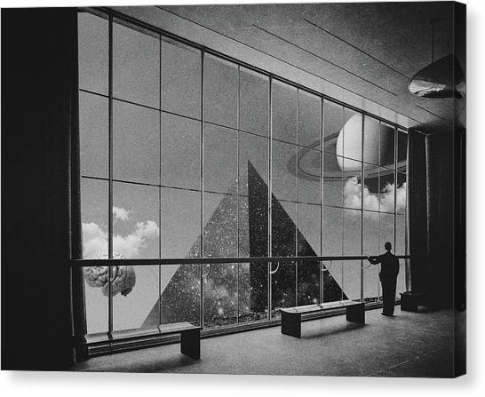 Museums Canvas Print - Sighting  by Fran Rodriguez