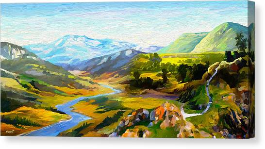 Sights And Sounds Canvas Print
