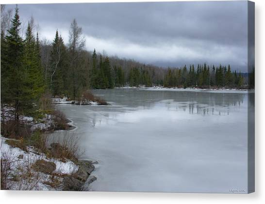 Signs Of Winter - Hiver Canvas Print