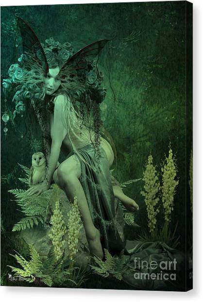 Silence Of The Night Canvas Print