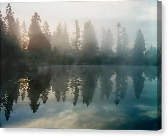 Silence Canvas Print by Sergey and Svetlana Nassyrov