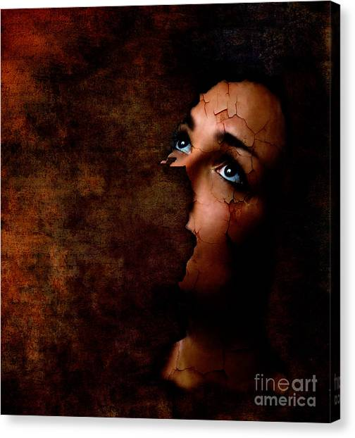 Silenced Canvas Print