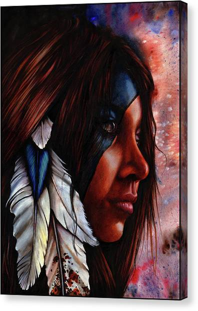 Silent Grace Canvas Print