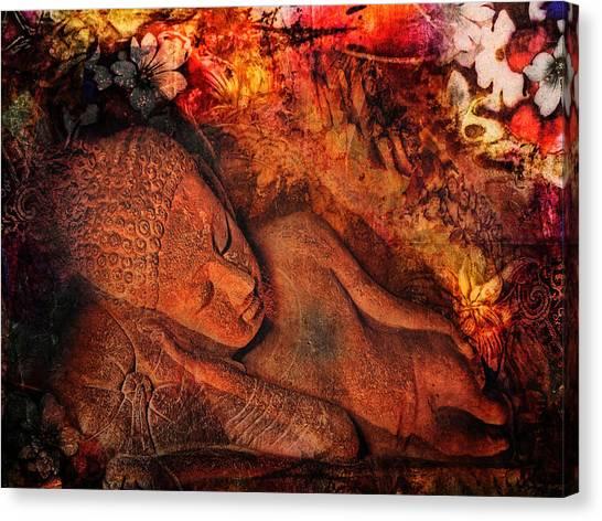 Hinduism Canvas Print - Silent Harmony by Joachim G Pinkawa