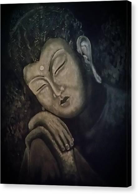 Silent Meditations Canvas Print