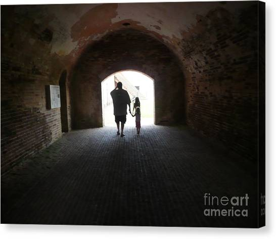 Silhouettes  Canvas Print by Barb Montanye Meseroll