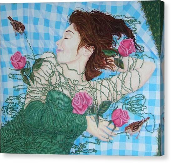 Canvas Print - Silkworm by Michael McEvoy