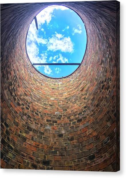 Silo Look Up Canvas Print