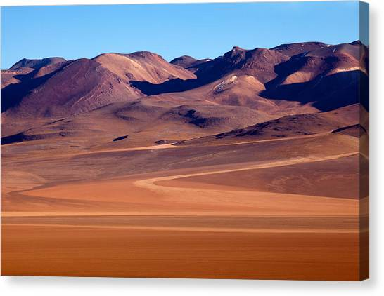 Siloli Desert Canvas Print