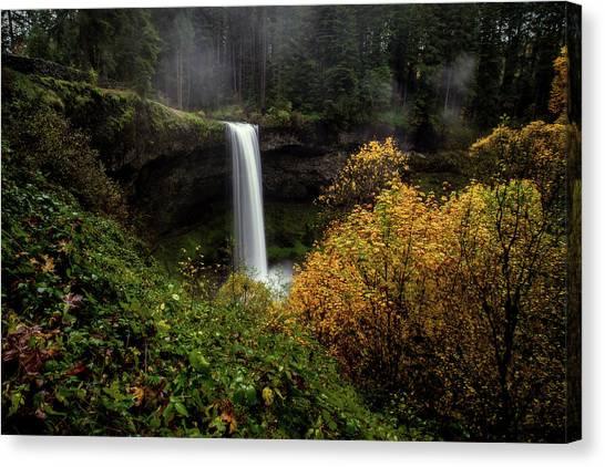 Silver Falls Canvas Print