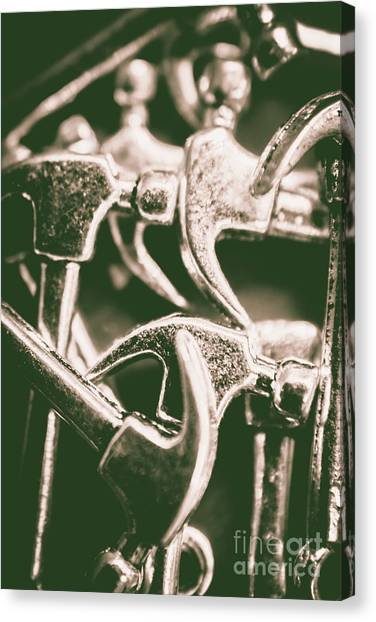 Hammers Canvas Print - Silver Hammers by Jorgo Photography - Wall Art Gallery