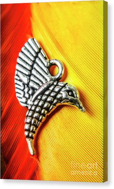 Hummingbirds Canvas Print - Silver Hummingbird by Jorgo Photography - Wall Art Gallery