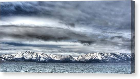 Silver Lake Tahoe Canvas Print