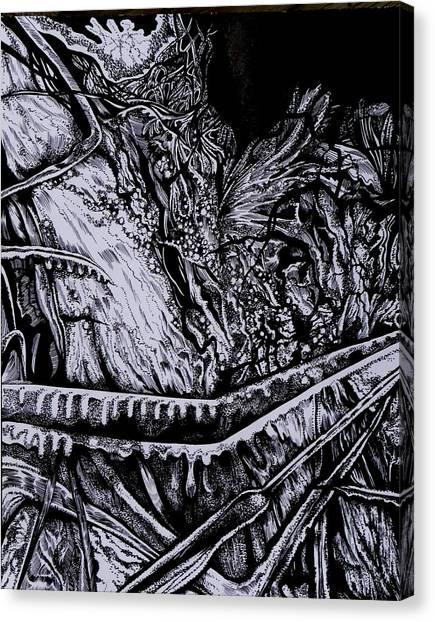 Silver Of My Lord Canvas Print by Anna  Duyunova