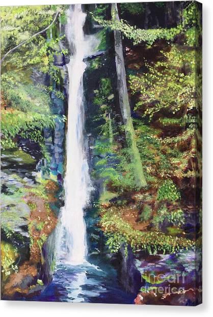 Silver Thread Falls Canvas Print
