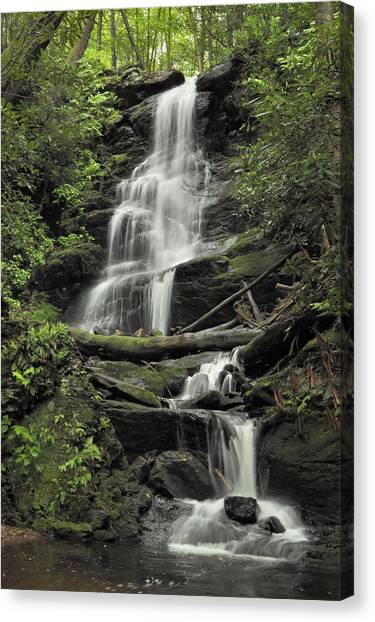 Silverspray Falls Canvas Print