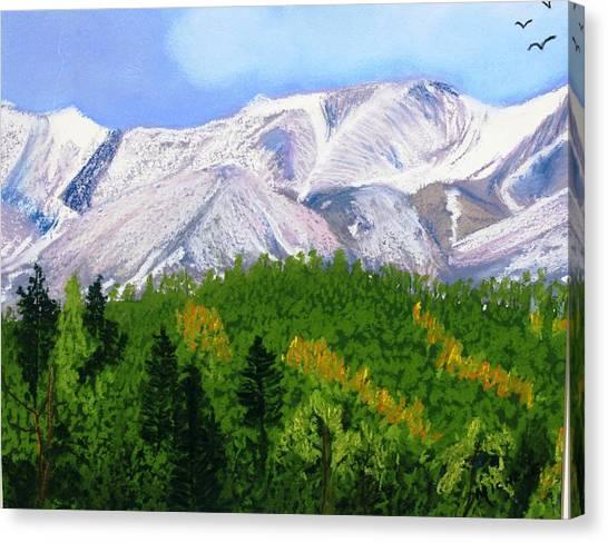 Silverton View Canvas Print