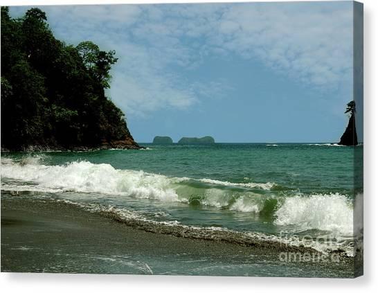 Simple Costa Rica Beach Canvas Print