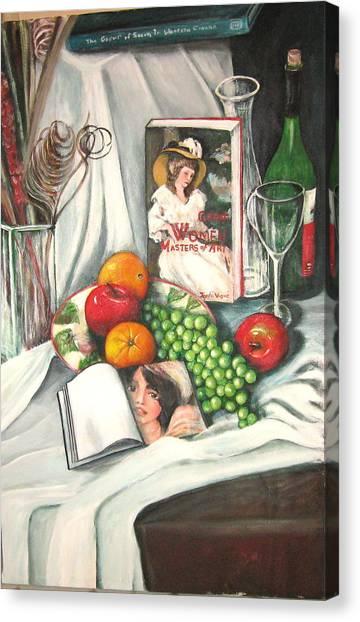 Simple Pleasures Canvas Print by Eileen Kasprick