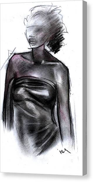 Simplicity Of Beauty Canvas Print by Okwir Isaac