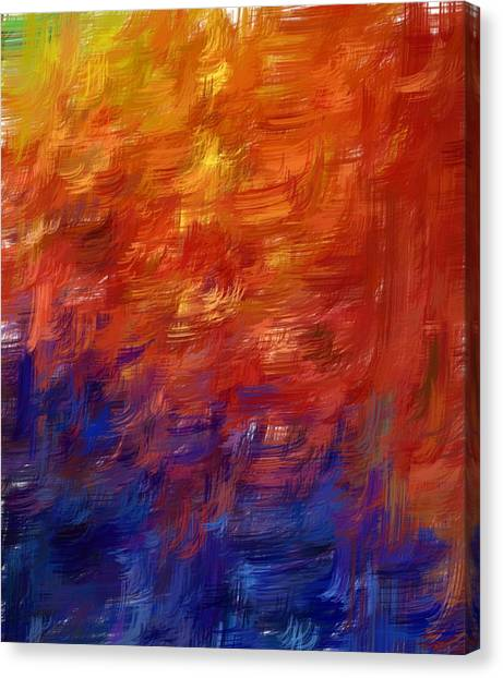 Simply Lines Canvas Print by Shari M