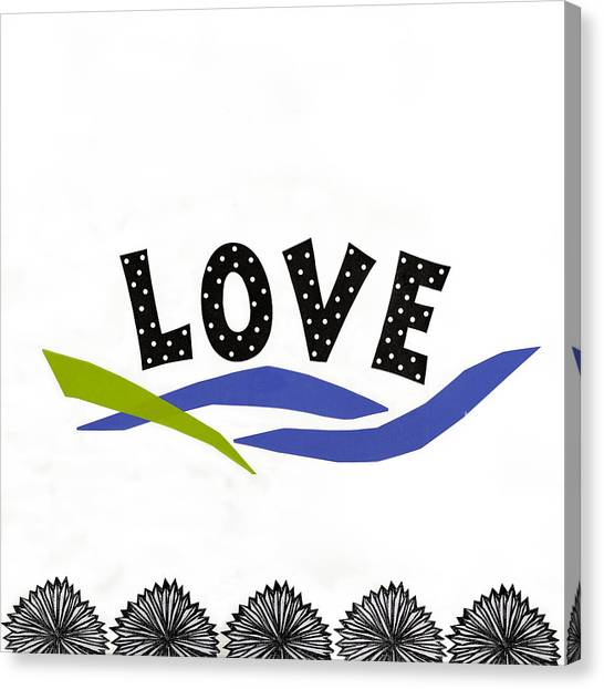 Simply Love Canvas Print