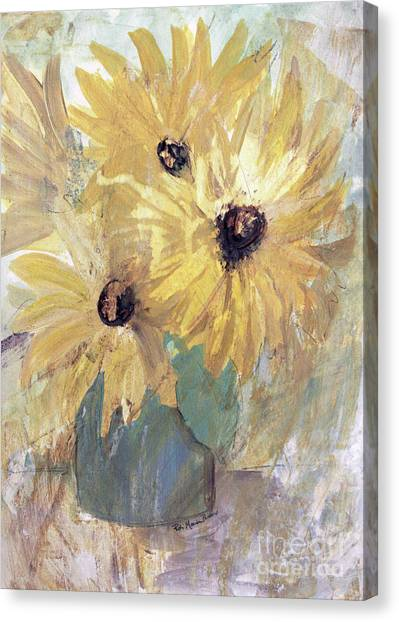Simply Sunflowers  Canvas Print