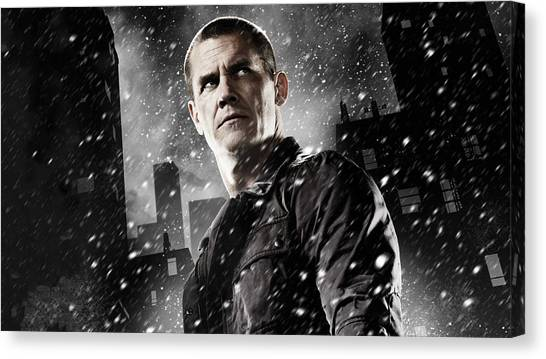 Bartender Canvas Print - Sin City A Dame To Kill For by Maye Loeser