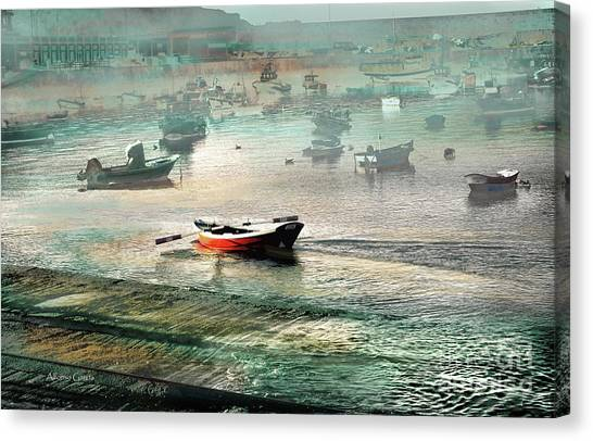 Sin Rumbo Canvas Print by Alfonso Garcia