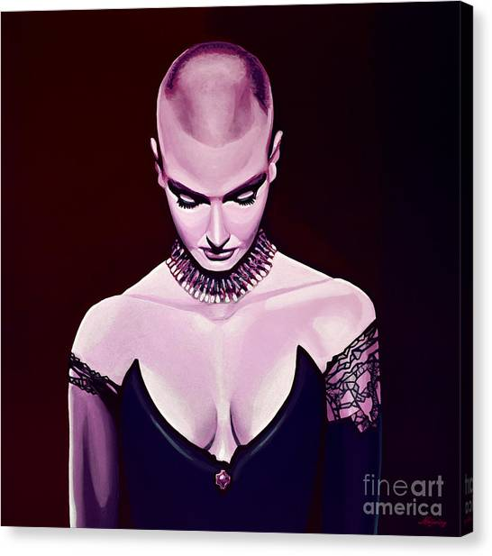Cobras Canvas Print - Sinead O'connor by Paul Meijering