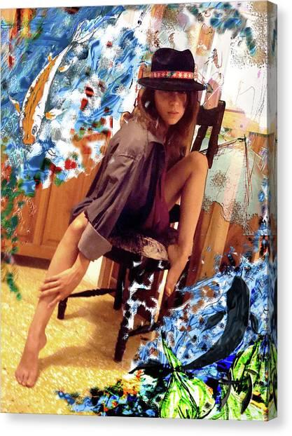 Sinergia Canvas Print