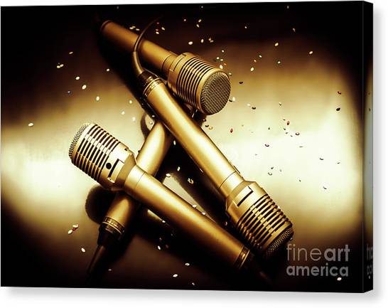 Concerts Canvas Print - Sing Star Concert by Jorgo Photography - Wall Art Gallery