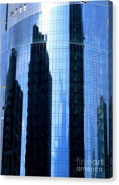 Singapore Skyline Canvas Print - Singapore Architecture 10 by Randall Weidner