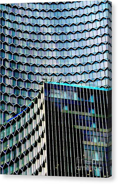 Singapore Skyline Canvas Print - Singapore Architecture 2 by Randall Weidner